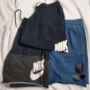 Nike sweat shorts men's